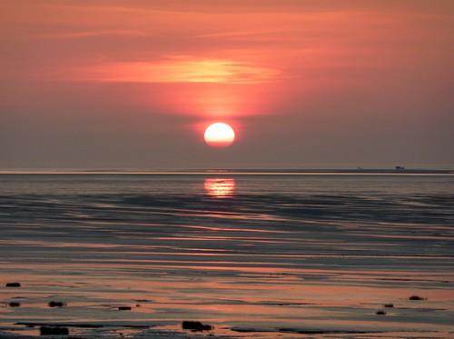 Sunset On Beach 16