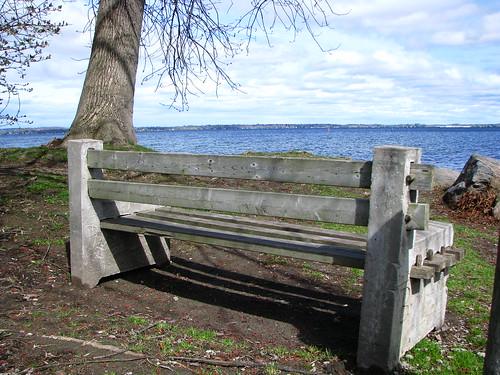 lake ontario canada bench gilford simcoe