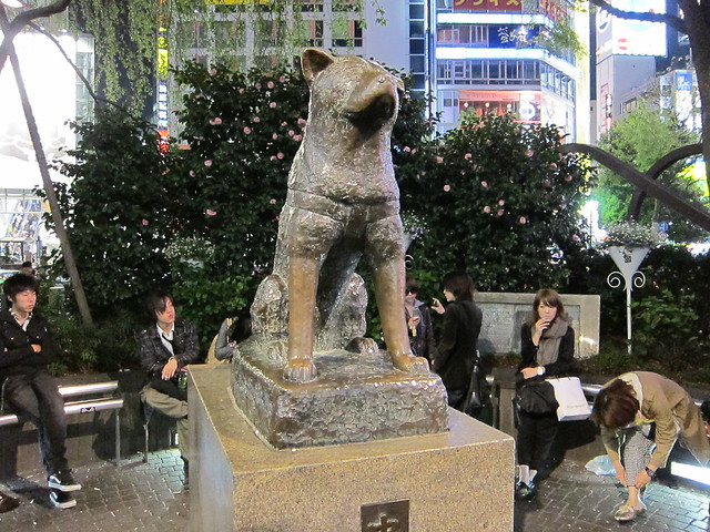 hachik� statue in shibuya the most famous meeting place