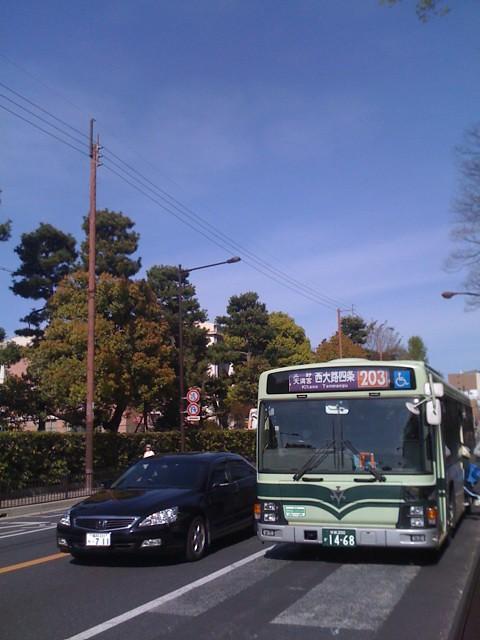 京都市バス203