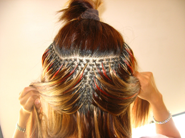 how to hair make it different : photo