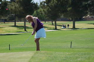 Susan Chipping Diva Las Vegas Golf Tournament 2010