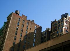 Manhattan watertowers