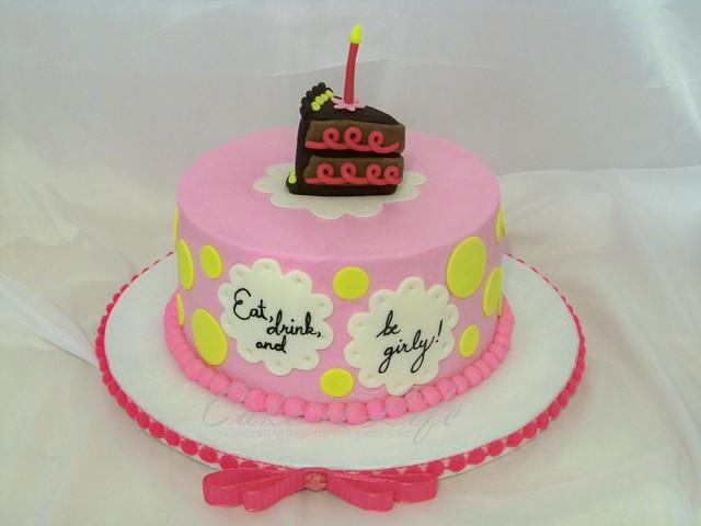 Girly Birthday Cake Images : Simple Girly Birthday Cake Flickr - Photo Sharing!