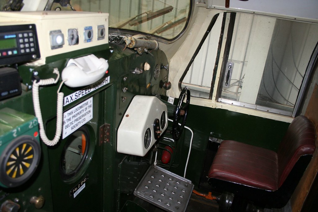 Class 55 Deltic Cab