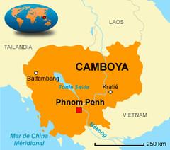 Mapa De Camboya Jose Miguel Redondo Flickr