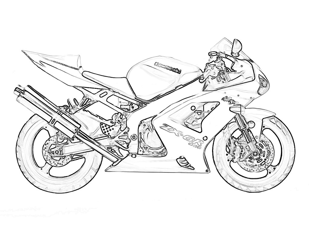 zx6r outline for coloring kawiforums kawasaki motorcycle forums. Black Bedroom Furniture Sets. Home Design Ideas