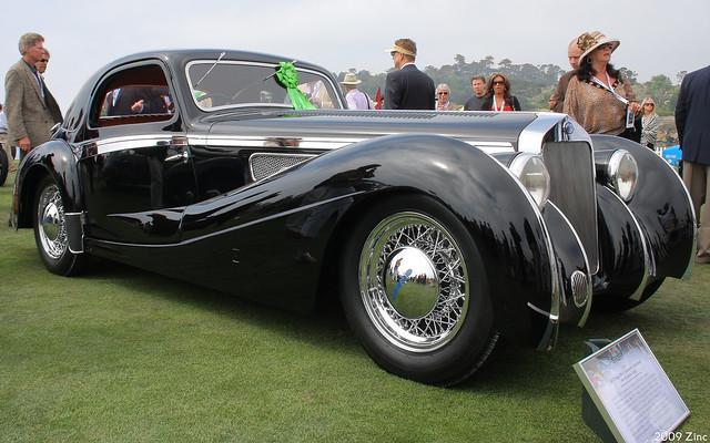 1937 Delage D8 Letourneur et Marchand Aerodynamic Coupé - fvr2