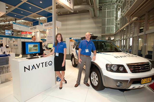 Navteq @ CeBIT Australia 2010