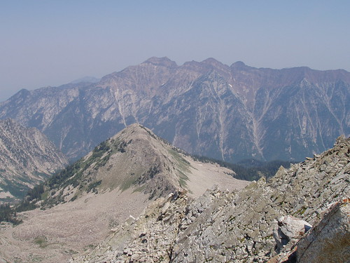 Mount Superior from the summit of the Pfeifferhorn.