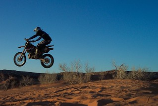 KTM Dune Jump