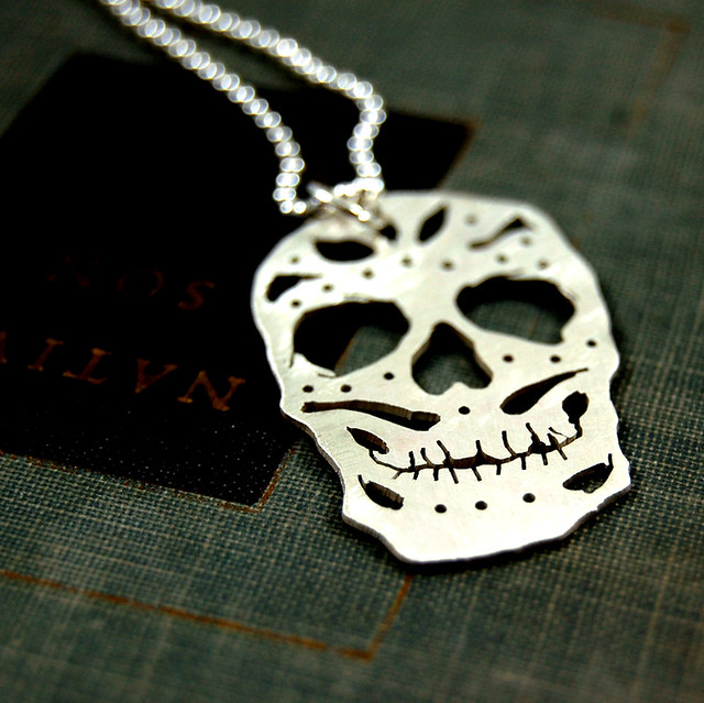 Sterling Silver Skull Pendants