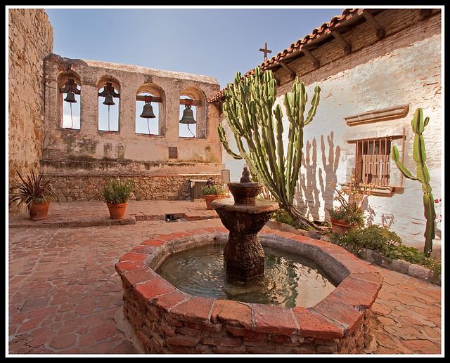 Fountain, Mission San Juan Capistrano | Flickr - Photo Sharing!