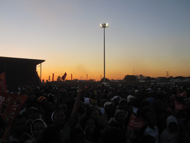 Witbank crowd for K'naan