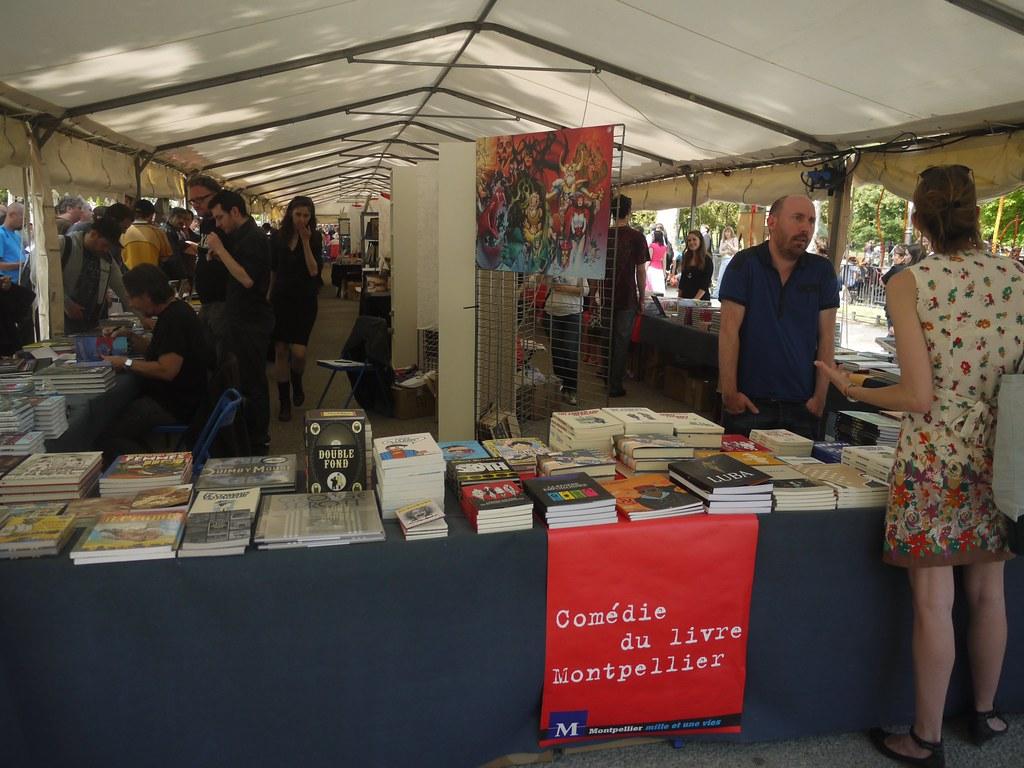 related image - Comédie du Livre 2010 - Vue d'ensemble - P1380803