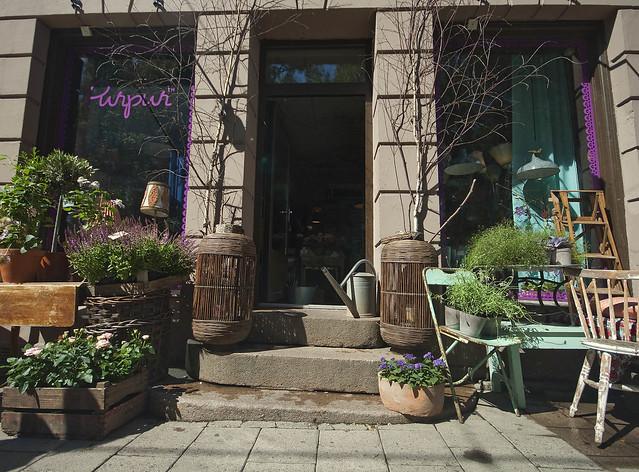 Purpur ligger på Grünerløkka, og er en butikk med atmosfære og sjel
