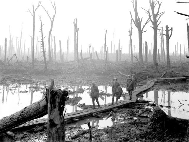 They called it Passchendaele, Frank Hurley (1917)