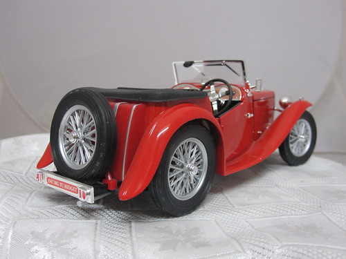 1947 MG TC Midget Sports Car 31