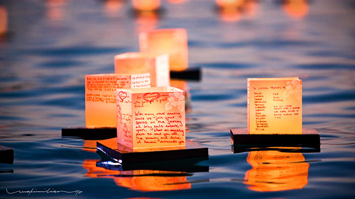 ocean sunset sea beach lights pacific shore lantern memorialday alamoanabeachpark