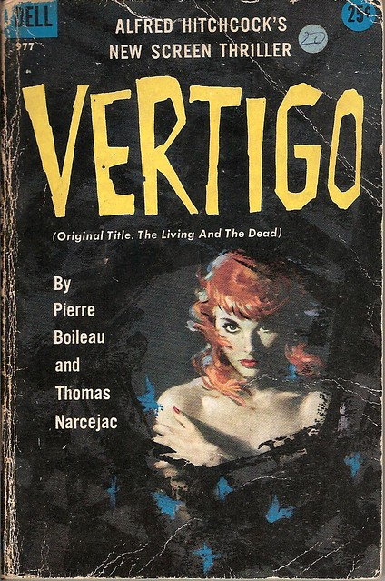 Vertigo - Dell book cover