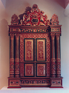 Torah Ark from the Tekkumbhagam Synagogue (Mattancherry, Kochi, Kerala, India)