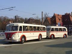 Schwerin - Historic IFA H6B with trailer!