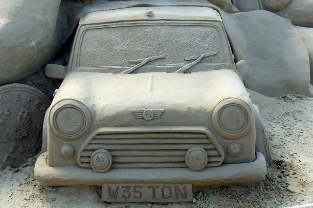Mini Sand Sculpture