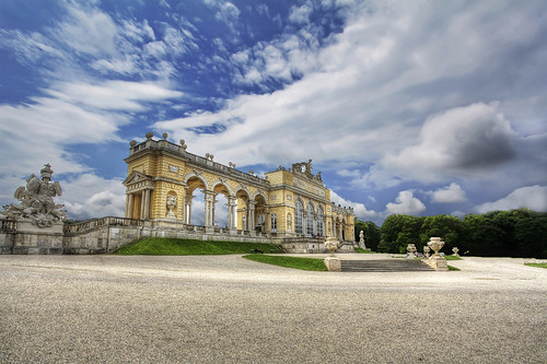 Gloriette at Schoenbrunn Palace in Vienna