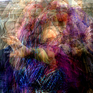 belly dancers multiple exposure