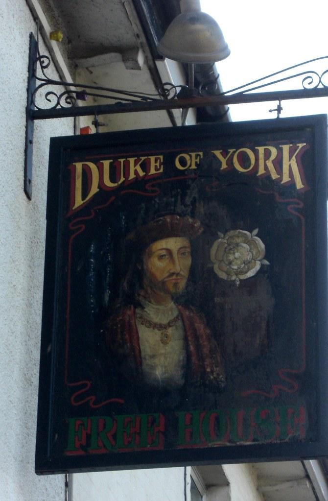 Clyst Honiton pub sign Duke of York