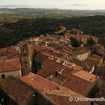 Rooftop View of Manciano - Maremma, Italy