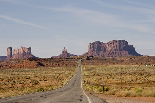 Monument Valley, Arizona, USA by dirk huijssoon