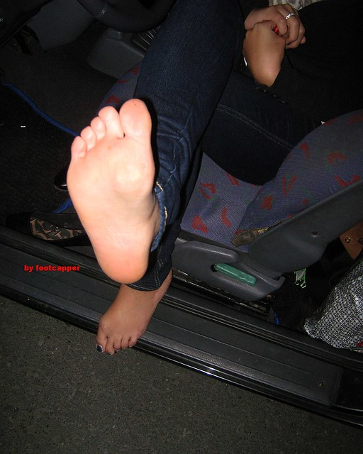 image Wife sleeping soles toes getting ready to cream her soles