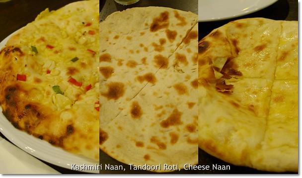 Kashmiri naan tandoori roti cheese naan flickr photo for Ah roy thai cuisine
