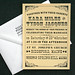 Typography Inspired Wedding Invitations