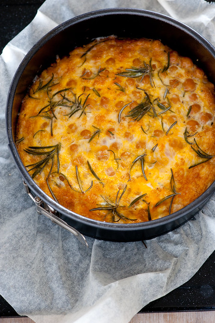 baked frittata with chickpeas & rosemary | Flickr - Photo Sharing!