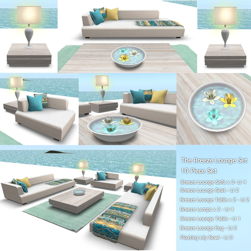 Breeze Lounge Set (New Ad) - SecondLifeHub.com