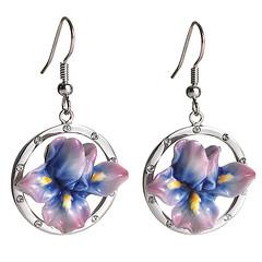 body jewelry, purple, violet, jewellery, earrings,