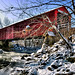 The Red Covered Bridge, Princeton, Illinois