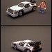Delorean Time Machine 5-wide