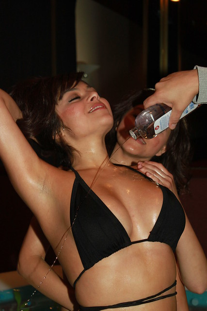Bikini Baby Oil Wrestling @ Club Cal Neva, Downtown Reno.