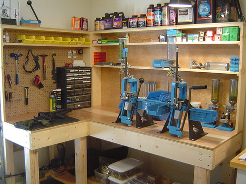Official reloading bench picture thread now with 100 for Storage room plan