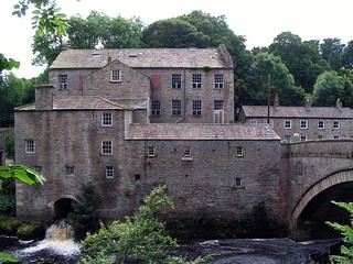 The Mill and Bridge at Aysgarth Falls