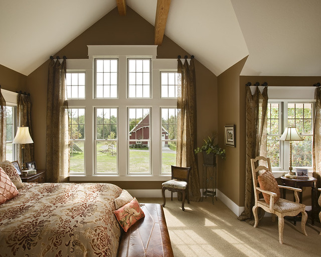 The Lexington Timber Frame Home Master Bedroom Flickr Photo Sharing