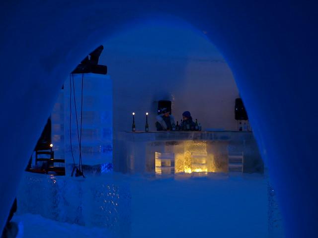 Un hotel de hielo a visitar con niños