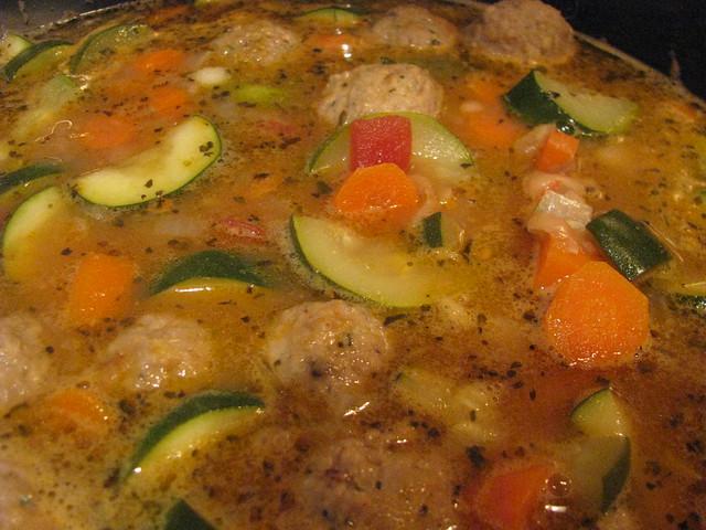Italian Meatball Soup | recipe here: www.heb.com/mealtime/r ...