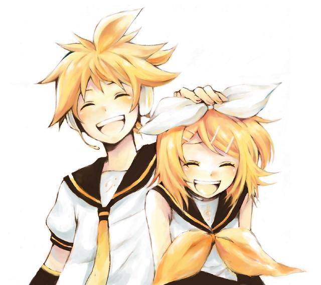 Kagamine Rin Neko Kagamine Rin And Len by Cute