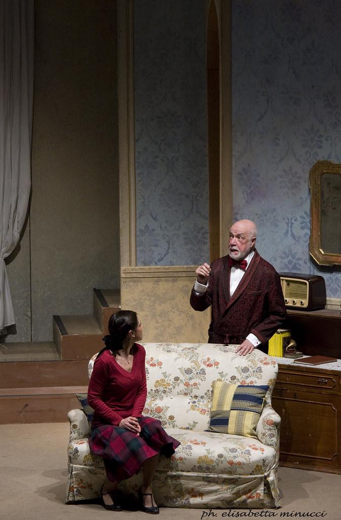 Adriana Innocenti E Piero Nuti In Agatha Christie Trappola Per