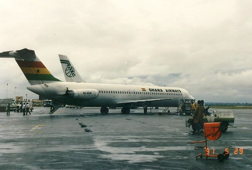 GHANA AIRWAYS DC-9-51 9G-ACM(cn878)