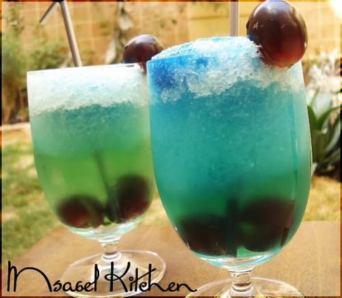 طريقة تحضير عصير كوزمين المثلج